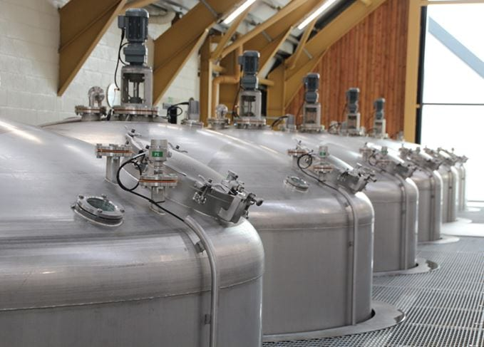 Stainless Steel Washbacks